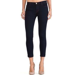 J Brand Capri Mid Rise Jeans
